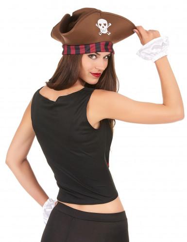 Corset et manchettes pirates femme-1