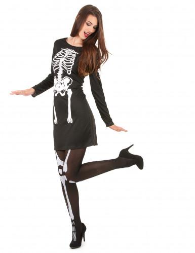 Déguisement squelette  femme Halloween-1