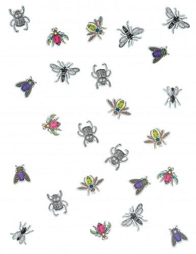 200 Confettis en papier insectes chic -1