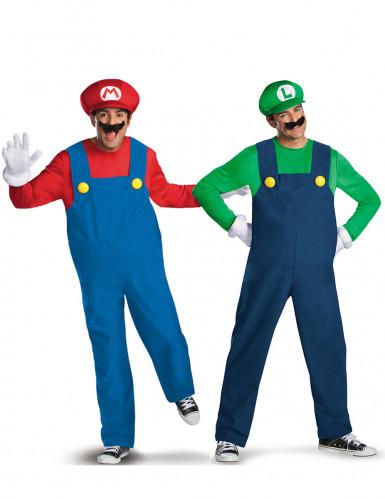 Déguisement de couple Mario™ et Luigi™ adulte