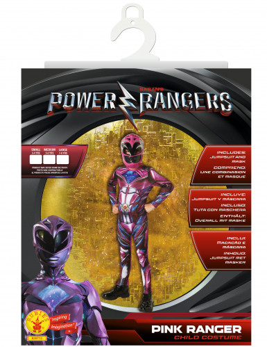 Déguisement Power Rangers™ Rose - Film-3