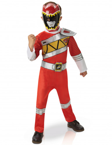 Coffret déguisement luxe Power Rangers Rouge Dino Charge™