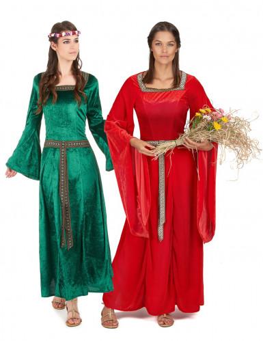 Déguisement couple médiéval femmes