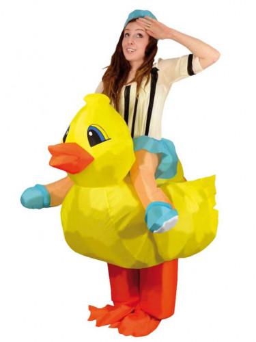 Déguisement canard gonflable adulte
