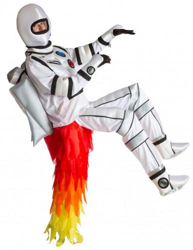 Déguisement astronaute avec réacteur adulte