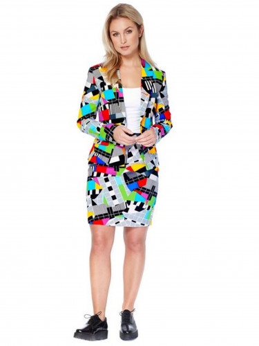 Costume Mrs. Technicolor femme Opposuits™