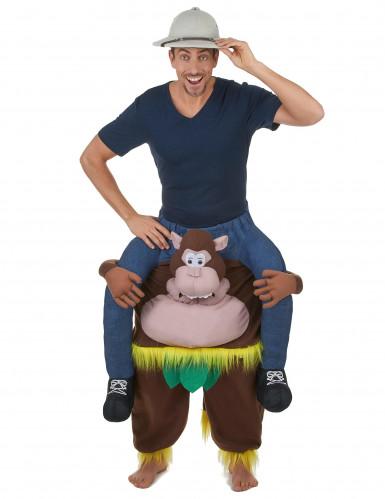 Déguisement homme à dos de singe adulte-1