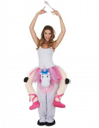 Déguisement Danseuse à dos de Licorne adulte