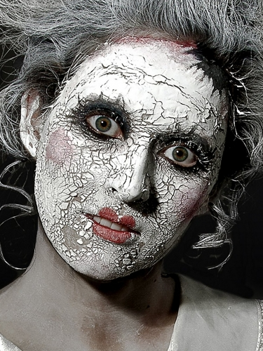 Maquillage cicatrice peau blanc