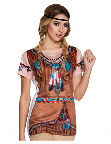 T-shirt indienne femme