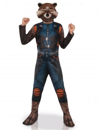 Déguisement avec masque Rocket Raccoon™ Les gardiens de la galaxie 2™ enfants