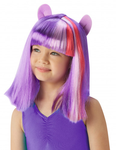 Perruque Twilight Sparkle™ My Little Pony™ fille
