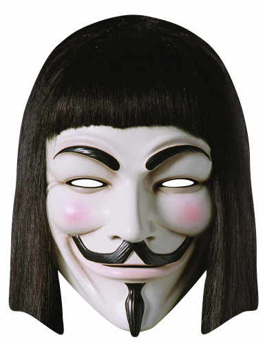 Masque carton V pour vendetta™ adulte