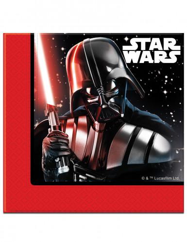 20 Serviettes en papier 33x33cm Star Wars Final Battle ™
