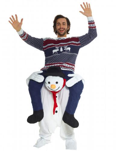 d guisement homme dos de bonhomme de neige adulte no l deguise toi achat de d guisements. Black Bedroom Furniture Sets. Home Design Ideas