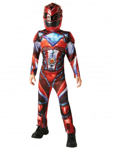 Déguisement luxe Power Rangers™ rouge enfant - Le film-1