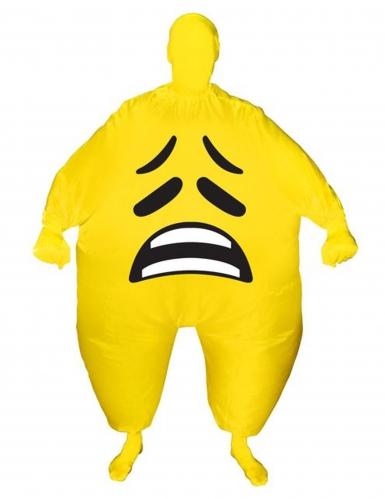Déguisement gonflable visage triste adulte Morphsuits™