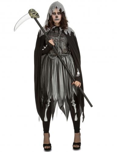 Déguisement faucheuse gothique femme Halloween