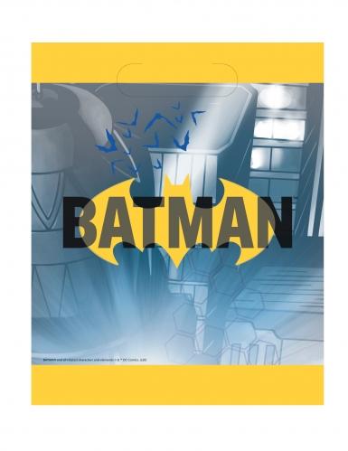 8 Sacs de fête Batman ™ 18 x 23 cm