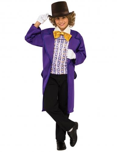 Déguisement Willy Wonka™ Charlie et la Chocolaterie™ enfant