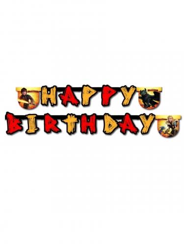 Guirlande Happy Birthday Dragons™ 200 x 16 cm