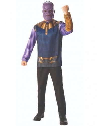 T-shirt et masque Thanos Infinity War™ adulte