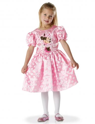 Déguisement classique robe Minnie™ rose fille