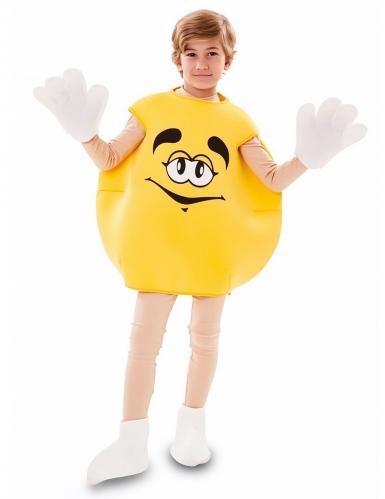 Déguisement de bonbon jaune enfant