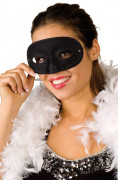 You would also like : Black masquerade mask for adults