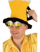 Gafas de jarras de cerveza para aficionado adulto