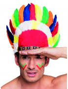 Red Indian headdress for adults