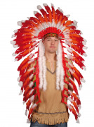 Feather Headdress of Big Chief Red Indian adult