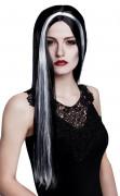 Vous aimerez aussi : Perruque sorci�re noire et blanche femme Halloween