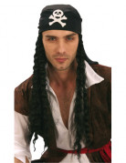 Perruque de pirate  homme