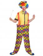 Clownskost�m f�r Herren