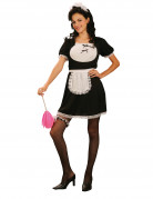 Female sexy chambermaid costume