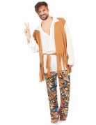 Disfarce hippie homem Braga