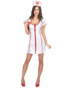 Krankenschwester-Kost�m Sexy f�r Damen