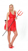 Sexy Halloween She-Devil costume for women.