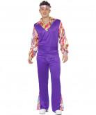 D�guisement hippie violet homme