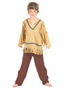 Red Indian costume for boys