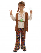 Boys' Brown Hippy Costume