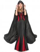 Mantello da Vampirella nero adulto Halloween