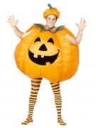 Aufblasbares K�rbis-Kost�m Halloween f�r Erwachsene