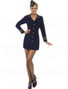 Sexy Stewardessen-Kost�m f�r Damen