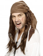 Peluca de Jack el pirata para hombre