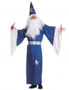 Blaues Zauberer-Kost�m f�r Herren
