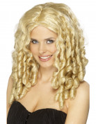 Blonde Star-Per�cke f�r Damen, Locken