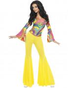Déguisement années 70 hippie femme