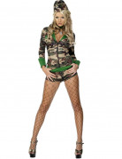 Sexy Army costume for women